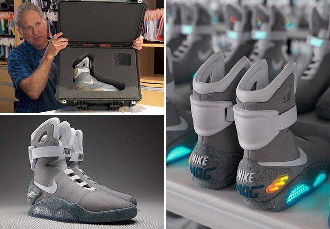 """O futuro é agora  Nike vai lançar tênis inspirado no filme """"De Volta ... 3d1b0a6be0"""