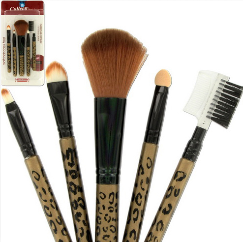 Leapord Makeup Brush Set Cosmetic brush set, Makeup