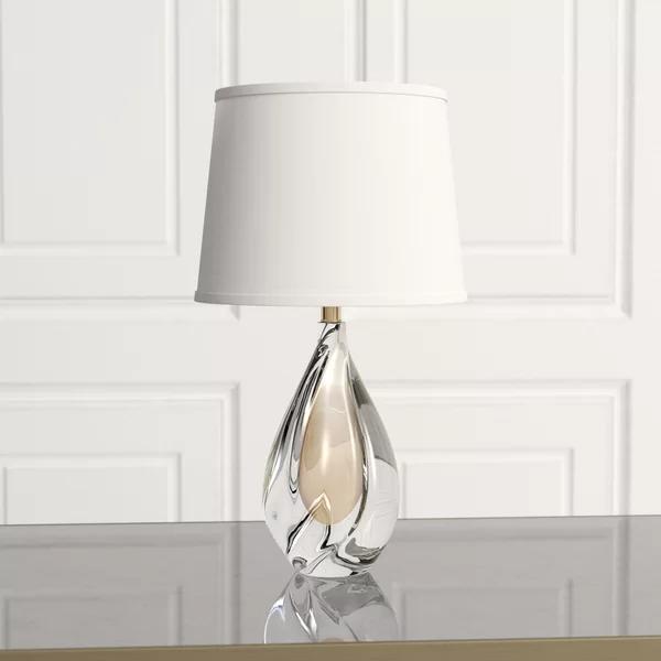 Mini Amber Twist 21 5 Table Lamp Lamp Table Lamp Unique Table Lamps