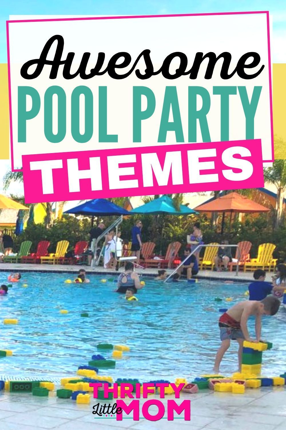 26 Fabulously Fun Pool Party Themes for Summer  Pool party themes