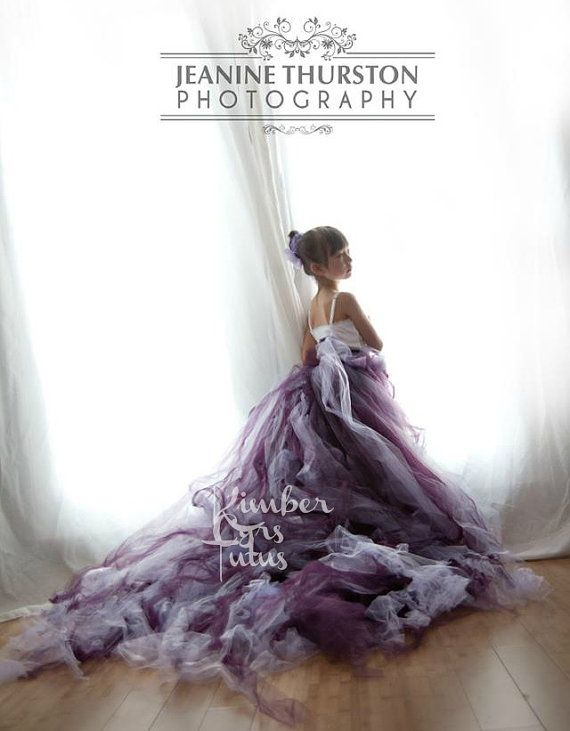 Extra Long Purple Tutu Skirt 12 Months Up To Adult Available
