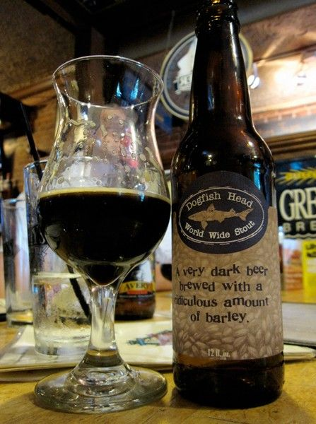 World Wide Stout  Brewery: Dogfish Head Brewery  Alcohol by Volume (%): 15 to 20
