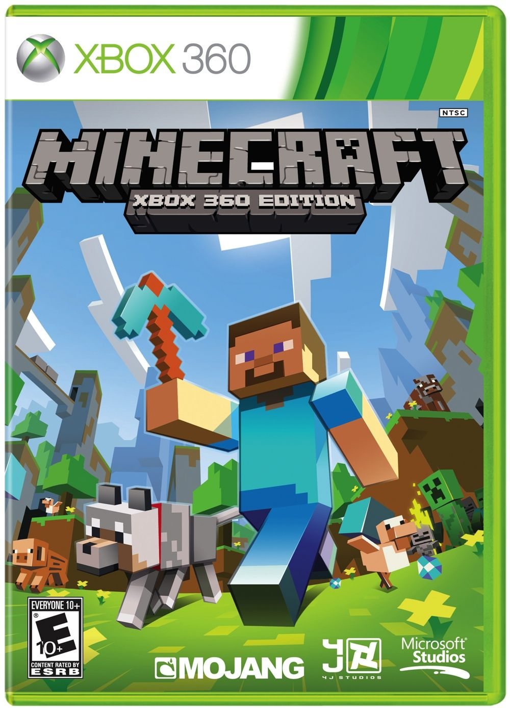 Minecraft For Xbox 360 Getting Physical Retail Edition Minecraft Games Fun Video Games Xbox 360 Games