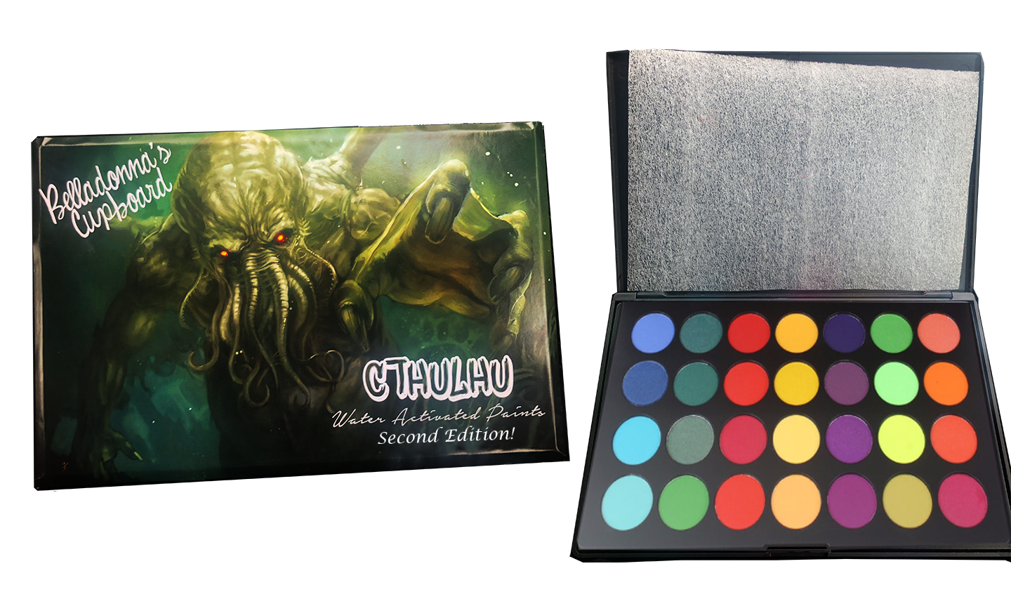 CTHULHU Water Activated Paint Palette NEW VERSION Paint
