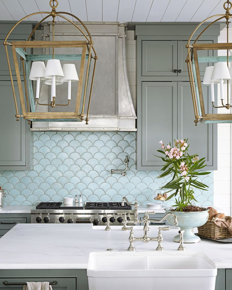 Best Kitchen Backsplash Ideas - Tile Designs for Kitchen