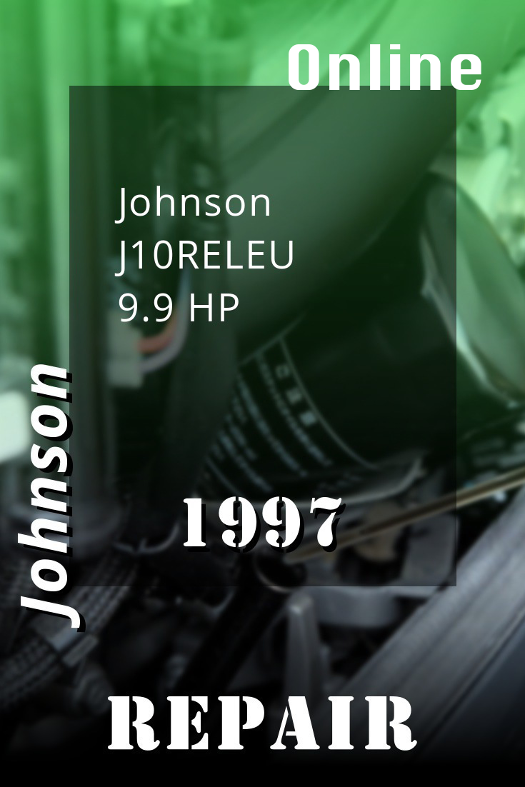 1997 J10releu Johnson 9 9hp Outboard Motor Repair Manuals Repair Johnson