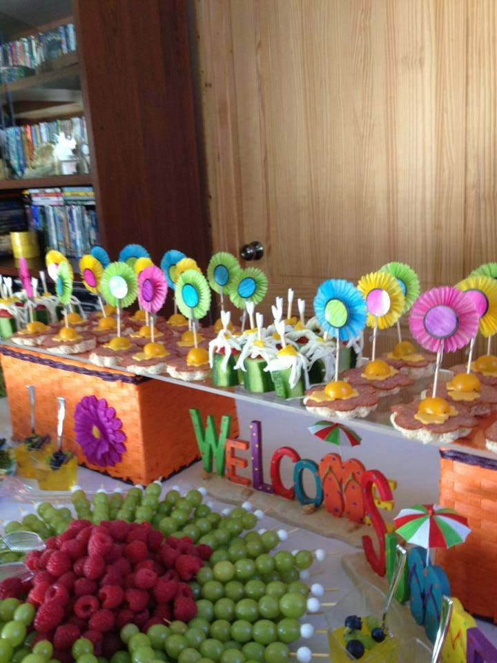 Welcome Summer Themed Birthday Party Kid S Birthday Party