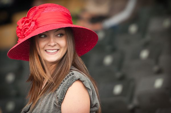 I want to wear hats like this...  All the time...