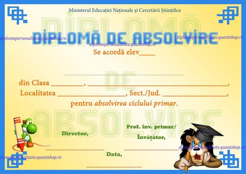 b diploma absolvire cl cu text nepersonalizat model jpg  b104 diploma absolvire cl 4 cu text nepersonalizat