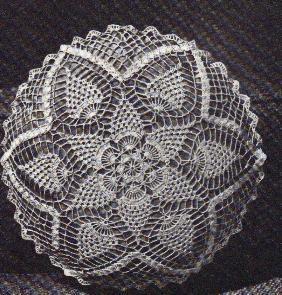 Free Crochet Pineapple Round Pillow Pattern