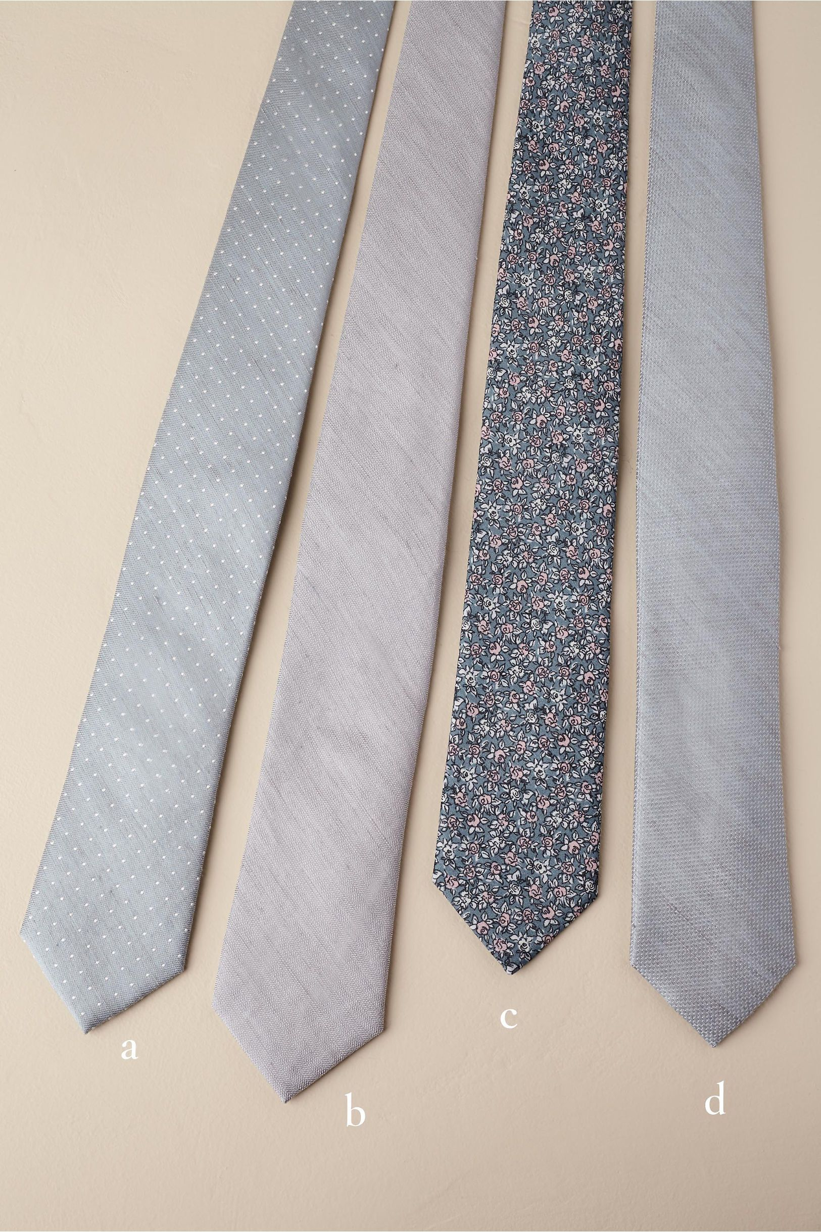BHLDN Tie Bar Champagne Collection Neutral in Bridal Party | BHLDN ...