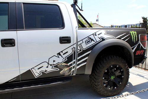 F 150 Ford Raptor Svt Monster Edition Digital Mud Splash Decal Graphics Decals Stickers Chatter