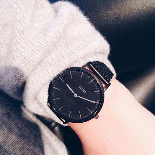 Populaire Cluse La Boheme Mesh Full Black | CLUSE Watches | Pinterest  UW89