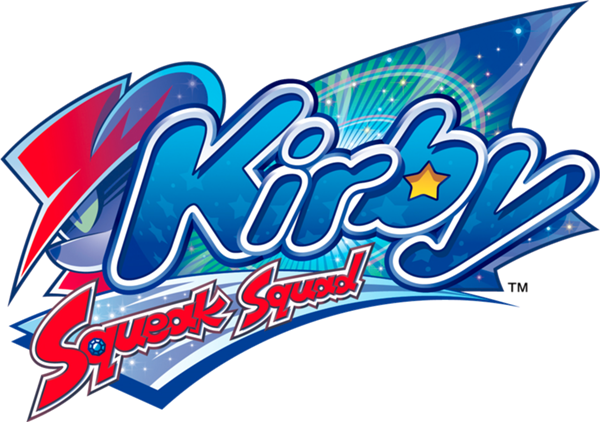 Kirby Squeak Squad Game logo