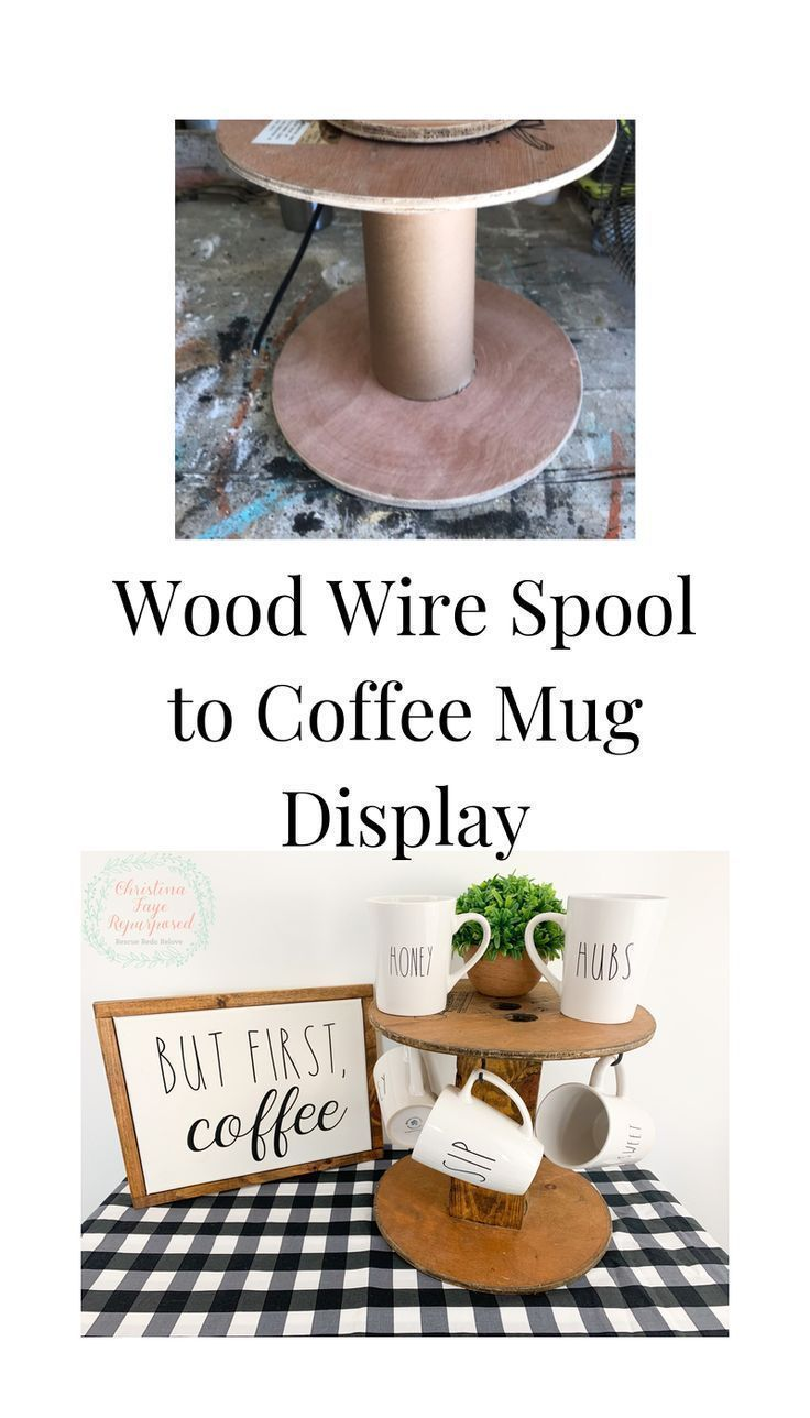 Coffee Mug Display #mugdisplay Turn a wood wire spool into a coffee mug display!  #makeover #diy #coffee #upcycle #repurpose #mugdisplay Coffee Mug Display #mugdisplay Turn a wood wire spool into a coffee mug display!  #makeover #diy #coffee #upcycle #repurpose #disneycoffeemugs Coffee Mug Display #mugdisplay Turn a wood wire spool into a coffee mug display!  #makeover #diy #coffee #upcycle #repurpose #mugdisplay Coffee Mug Display #mugdisplay Turn a wood wire spool into a coffee mug display!  # #disneycoffeemugs