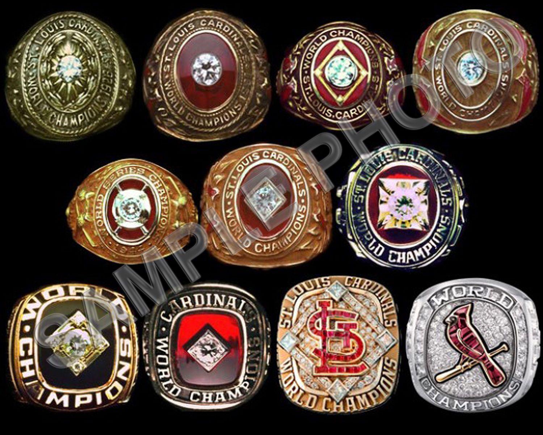 6 95 Photo St Louis Cardinals Baseballworld Series Champions Rings 8x10 Photo Ebay Collectibles Cardinals World Series St Louis Cardinals Baseball Cardinals Baseball