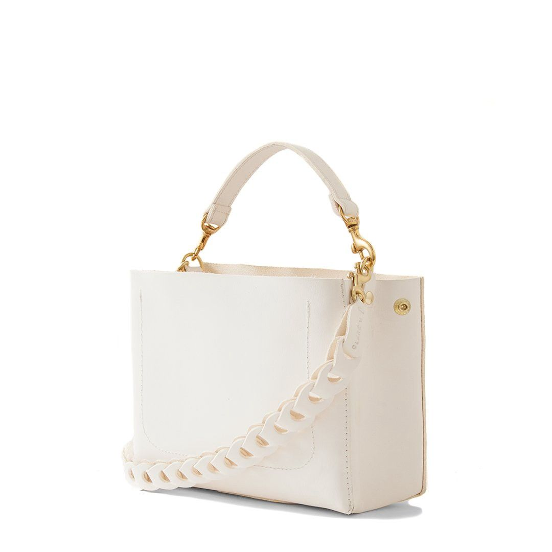 2a7ba385398f66 Clare V. Brique - White | Products | Crossbody bag, Bags, Bag ...