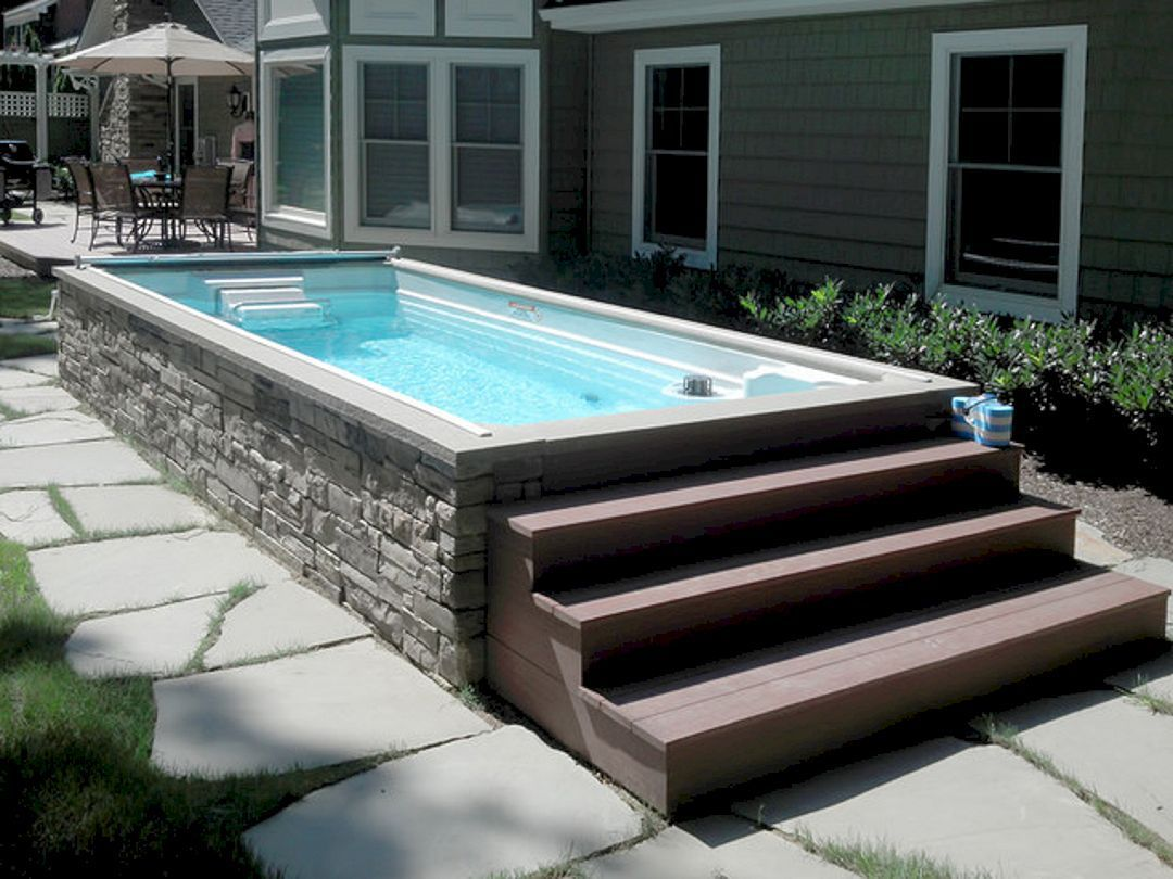 Top 112 Diy Above Ground Pool Ideas On A Budget Https Freshoom Com 6203 Top 112 Diy Ground Pool Ideas Budg Endless Pool Backyard Endless Pool In Ground Pools