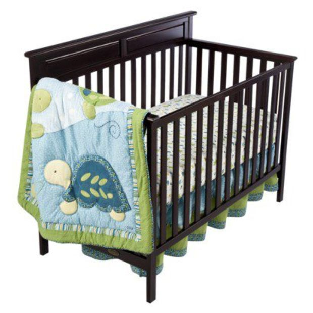 Cocalo 8pc Crib Set Turtle Reef Baby Girl Cribs