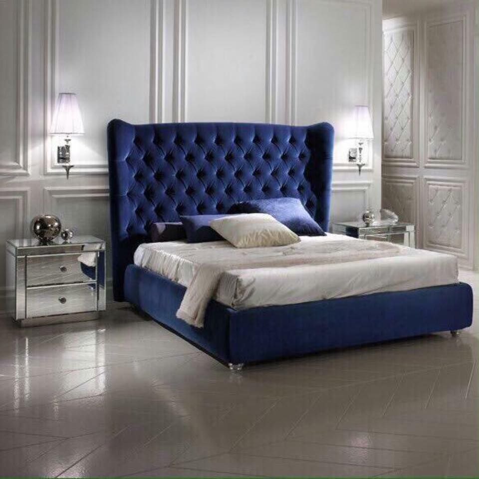 Best Our Beautiful Royale Bed Is A Gorgeous Statement Bed With 640 x 480