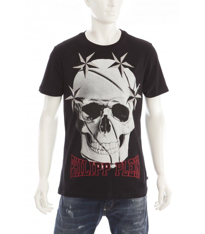 finest selection 5b856 a8274 fashion philipp plein moda summer estate uomo t-shirt black ...