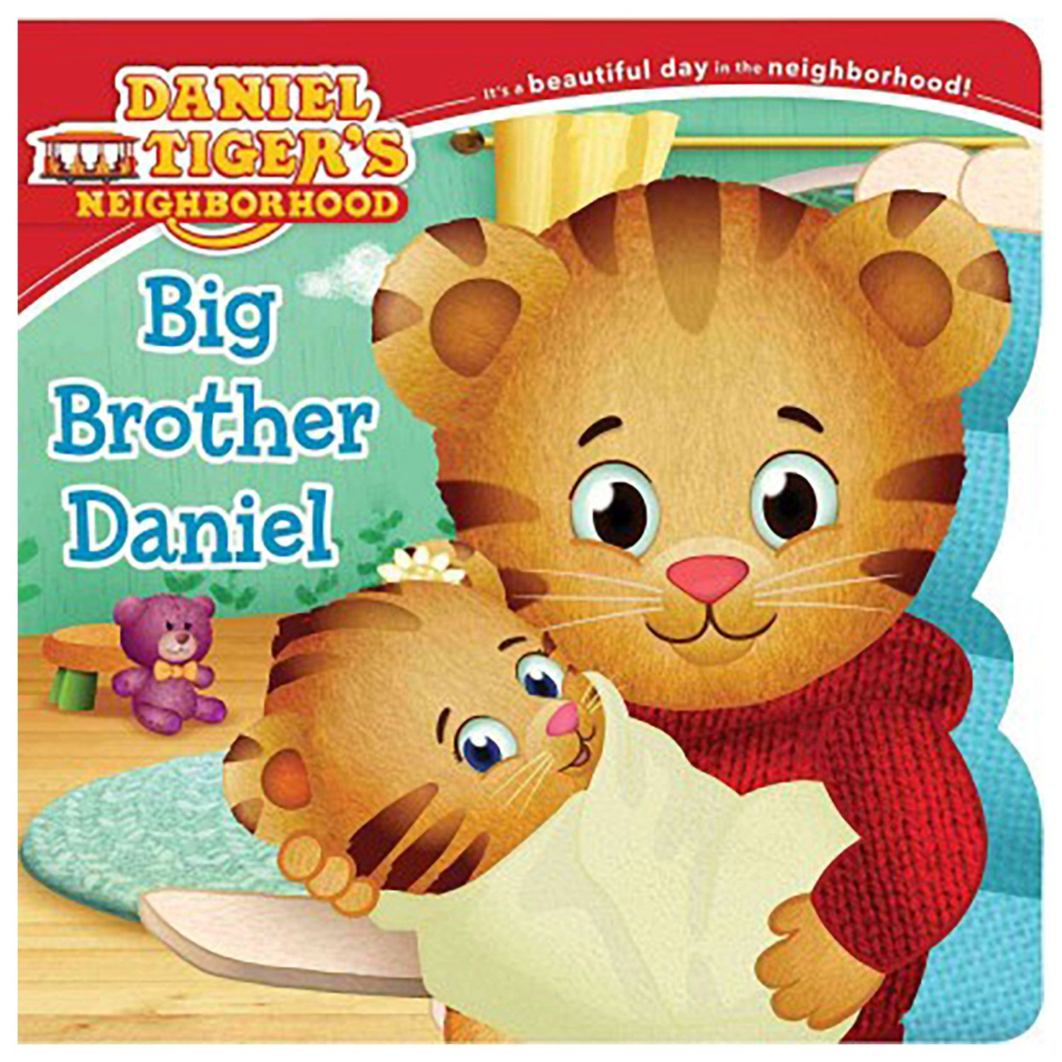 daniel tiger 39 s neighborhood big brother daniel book baby sister and child. Black Bedroom Furniture Sets. Home Design Ideas