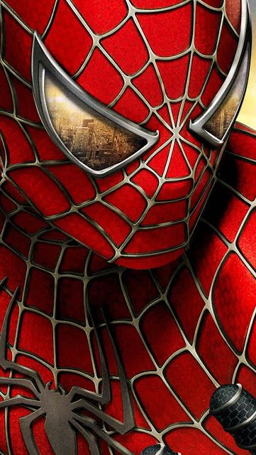 Spider man iphone 5 wallpaper spidey pinterest h ros - Papier peint super heros ...
