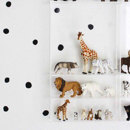 Wandtattoo-Set Pünktchen schwarz online kaufen ➜ Bestellen Sie Wandtattoo-Set Pünktchen schwarz für nur 19,95€ im design3000.de Online Shop - versandkostenfreie Lieferung ab 50€!