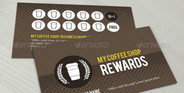 20 Free and Premium Loyalty Cards Templates Design