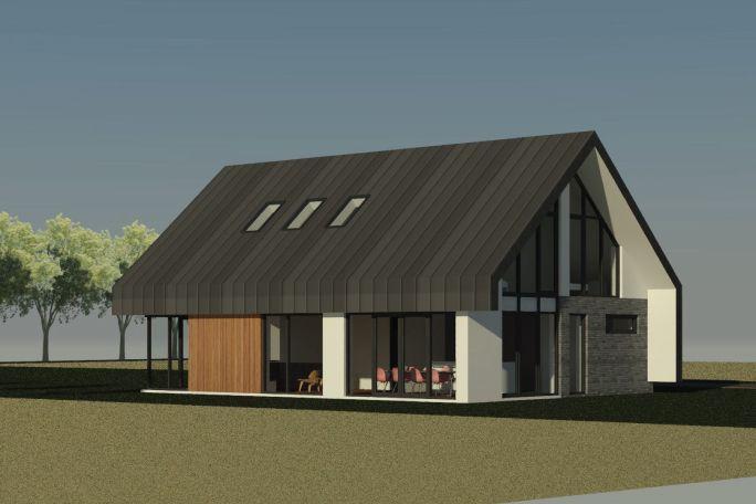 Nieuwbouw schuurwoning in ermelo ontwerp voor een nieuw for Nieuw huis bouwen