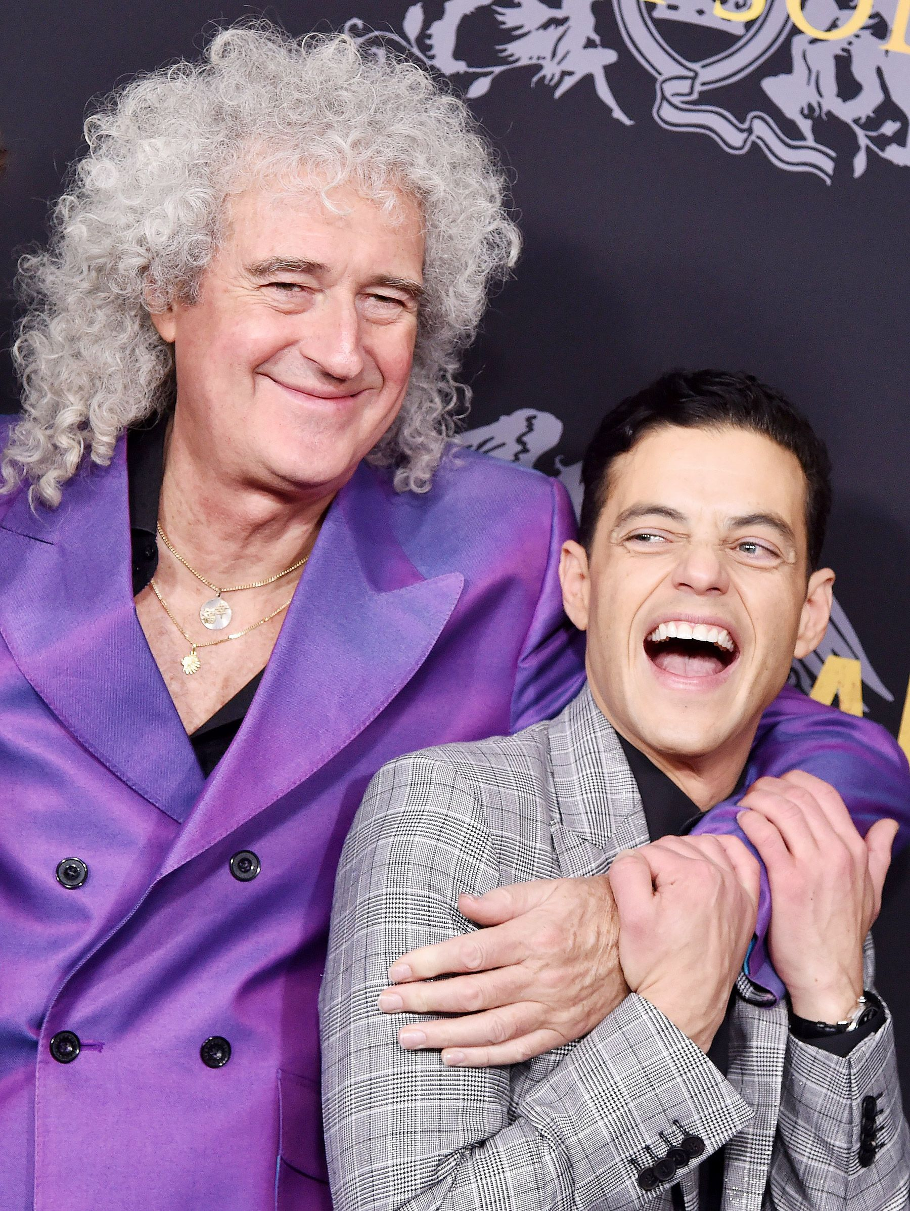 Brian May Says Rami Malek Deserves Oscar Nod for Freddie ...
