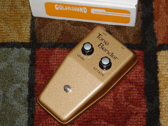 D A M Dam Sola Sound Gold Tone Bender Mk1 5 Oc84 S Goldie 2011
