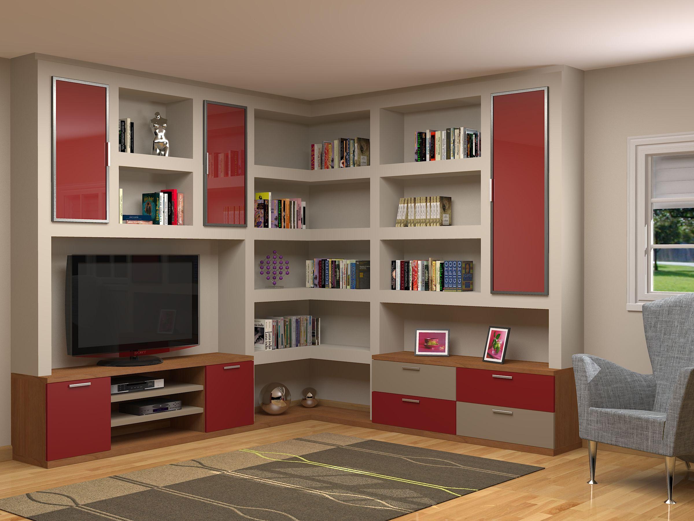 Muebles rinconera adaptados a cualquier rinc n for Muebles de rinconera