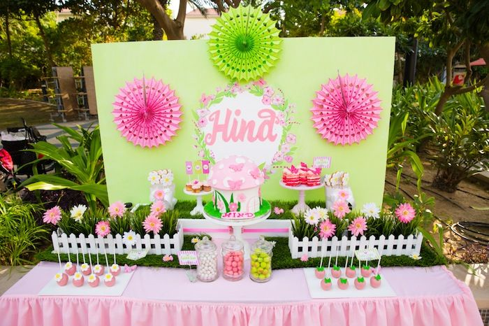 Butterfly Garden Themed Birthday Party Full Of Really Cute Ideas Via Karas Kara Allen