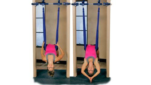Amazon.com : Aerial Yoga Swing by Gorilla Gym : Yoga Equipment : Sports & Outdoors
