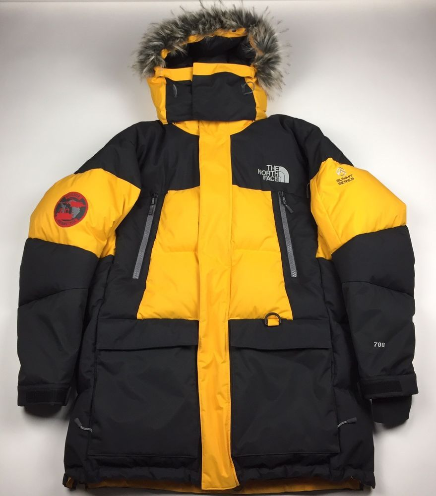 Rare The North Face Summit Series Vostok Antarctic Yellow Parka Down Jacket M Yellow Parka Down Jacket Jackets [ 1000 x 879 Pixel ]