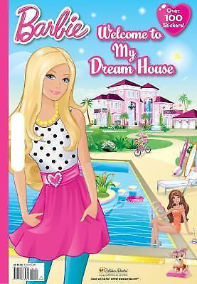 Welcome To My Dream House Barbie Giant Coloring Book Man Kong Mary Barbie Coloring Barbie Books Barbie