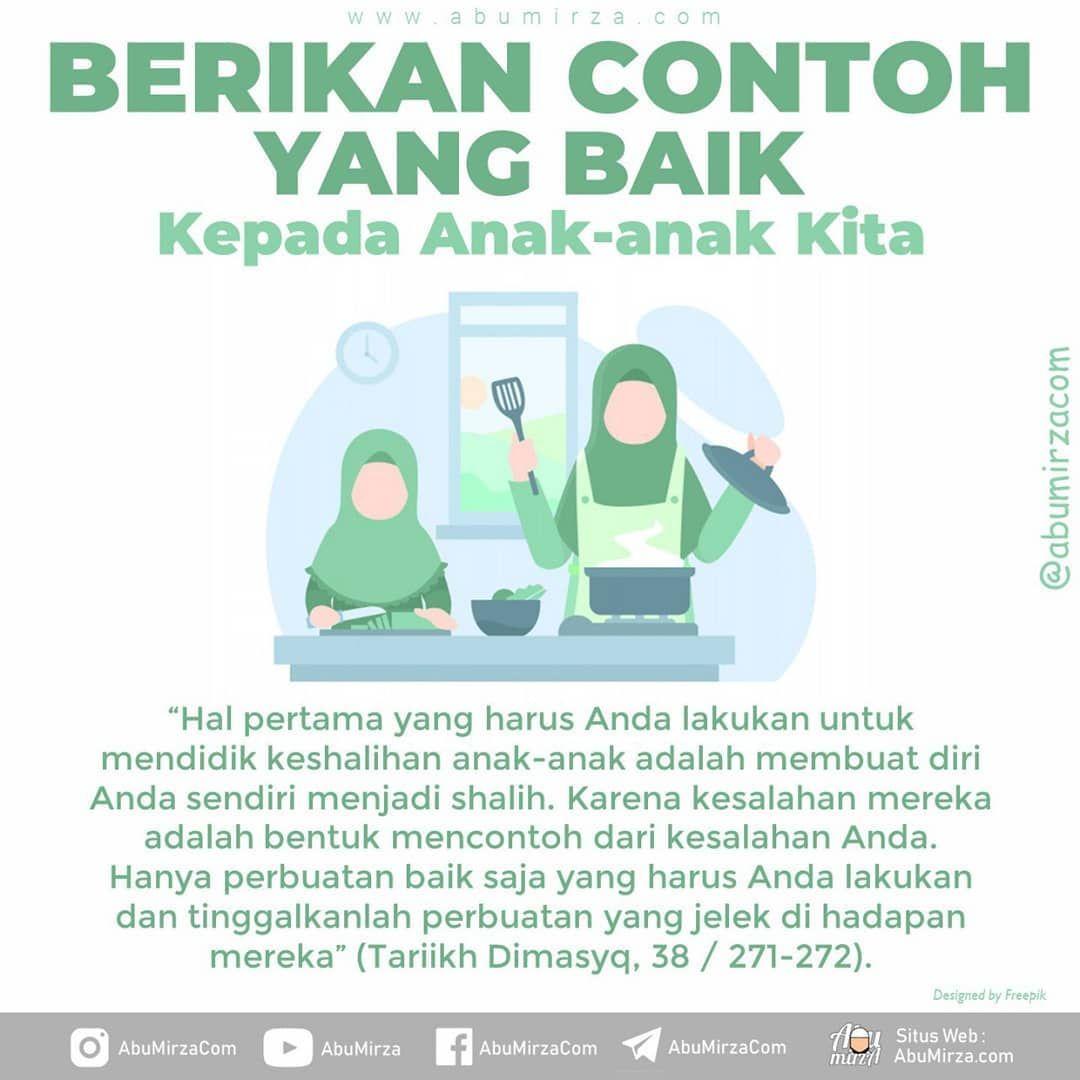 Poster Dakwah Abumirza Com On Instagram Bagaimana Mendidik Anak Dalam Islam Pendidikan Yang Baik Adalah Dengan Menanamkan Akhlaq Yang Baik Secara Kuat Dan