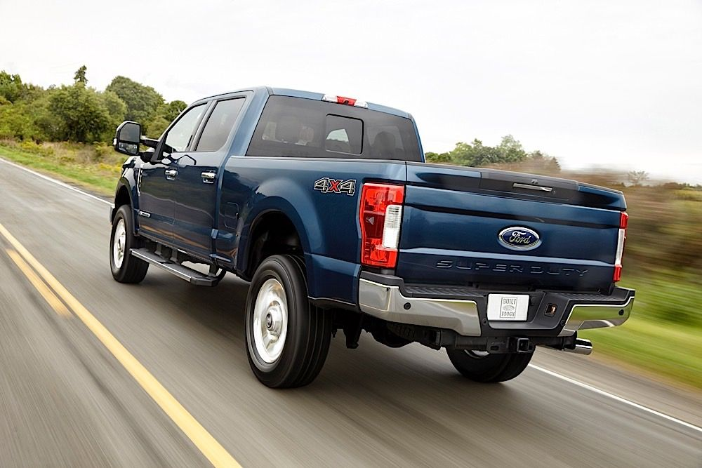 2017 Ford F Series Super Duty So Much Aluminum Photo Gallery Of News From Car And Driver Images