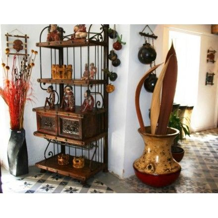 Meuble D Entree Meuble Salon Meuble Mexicain En Bois Et Fer Forge
