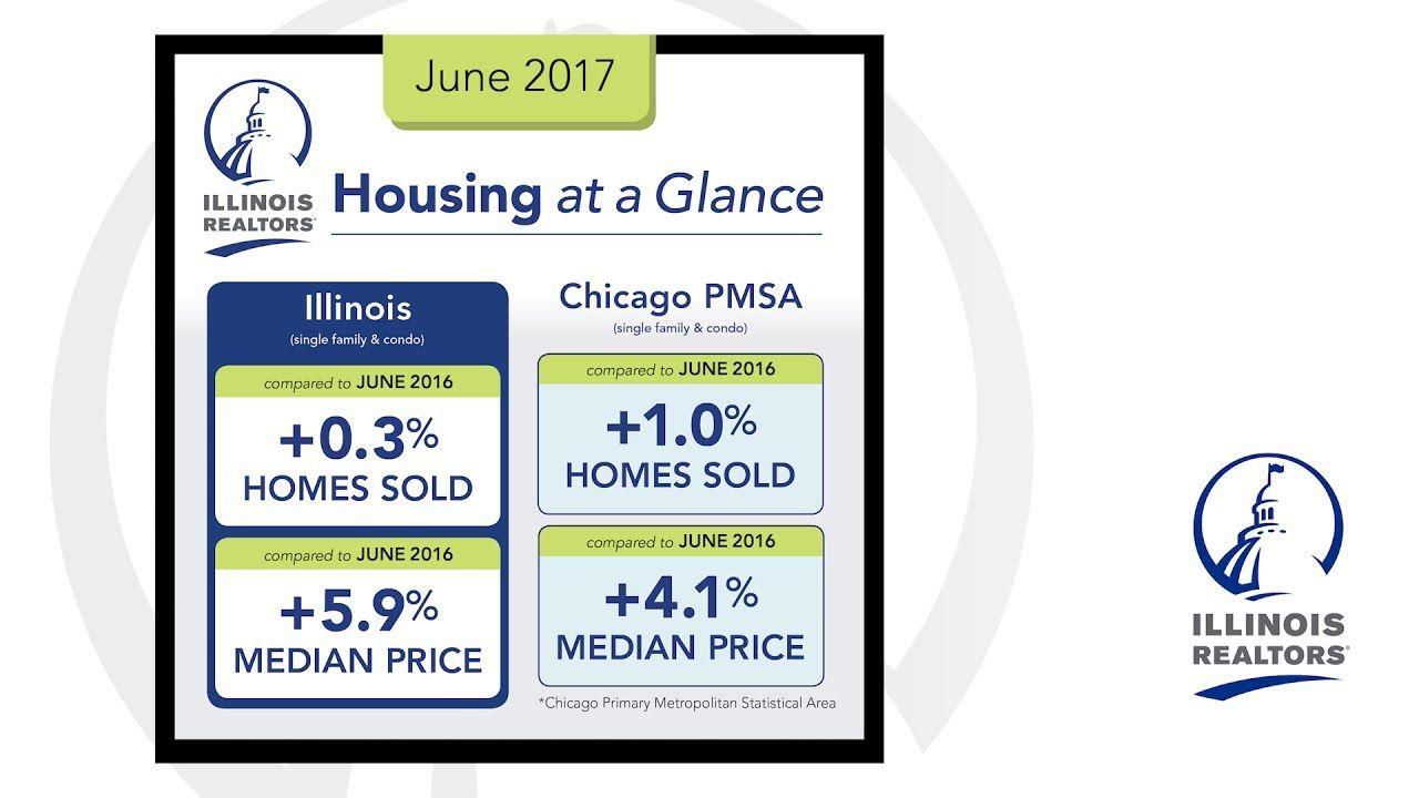June housing report 2017 il