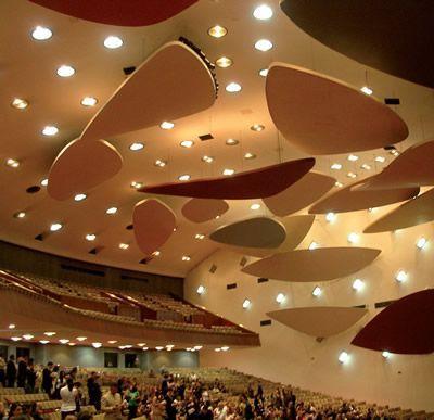 Auditório da Aula Magma, edifício da universidade Central da Venezuela