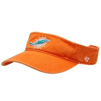 Miami Dolphins '47 Brand CleanUp Visor Orange (With