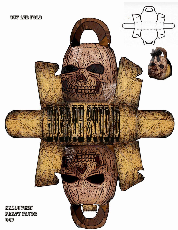 Halloween Calavera: Caja para Imprimir Gratis.   Halloween ...