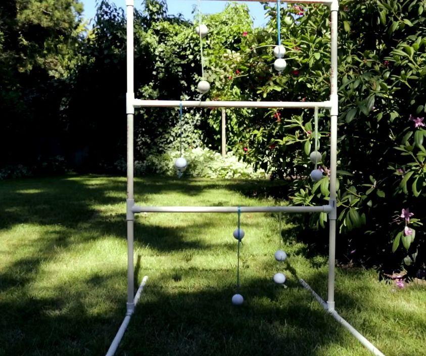 diy wooden ladder golf