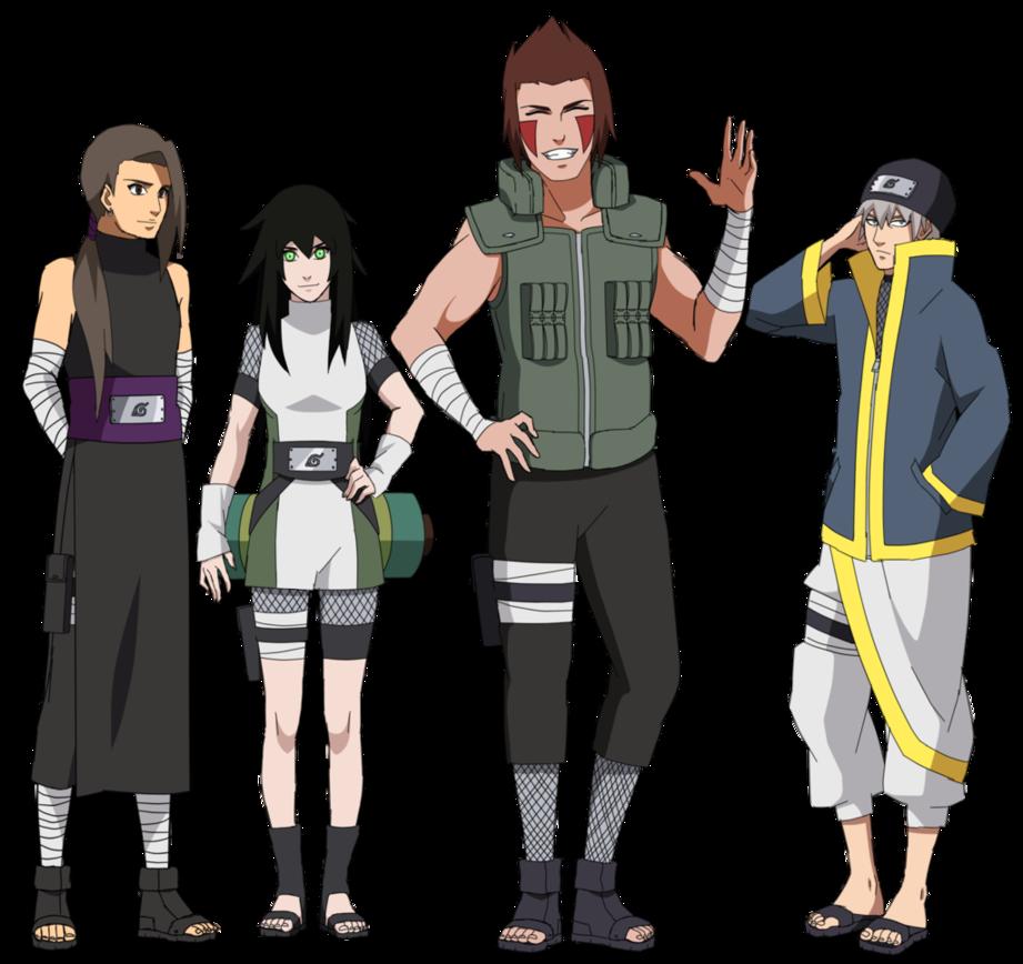 Team Tadao of the Hidden Leaf by mapleflower Naruto oc