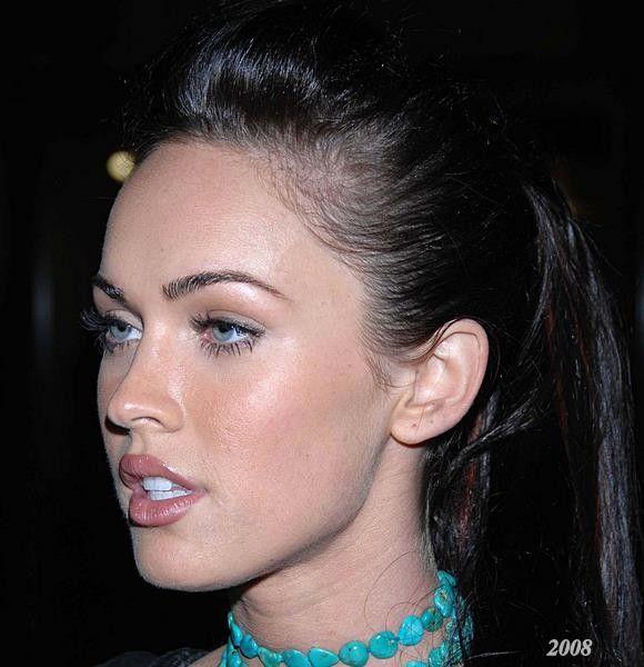 Megan Fox Eyebrows 2008