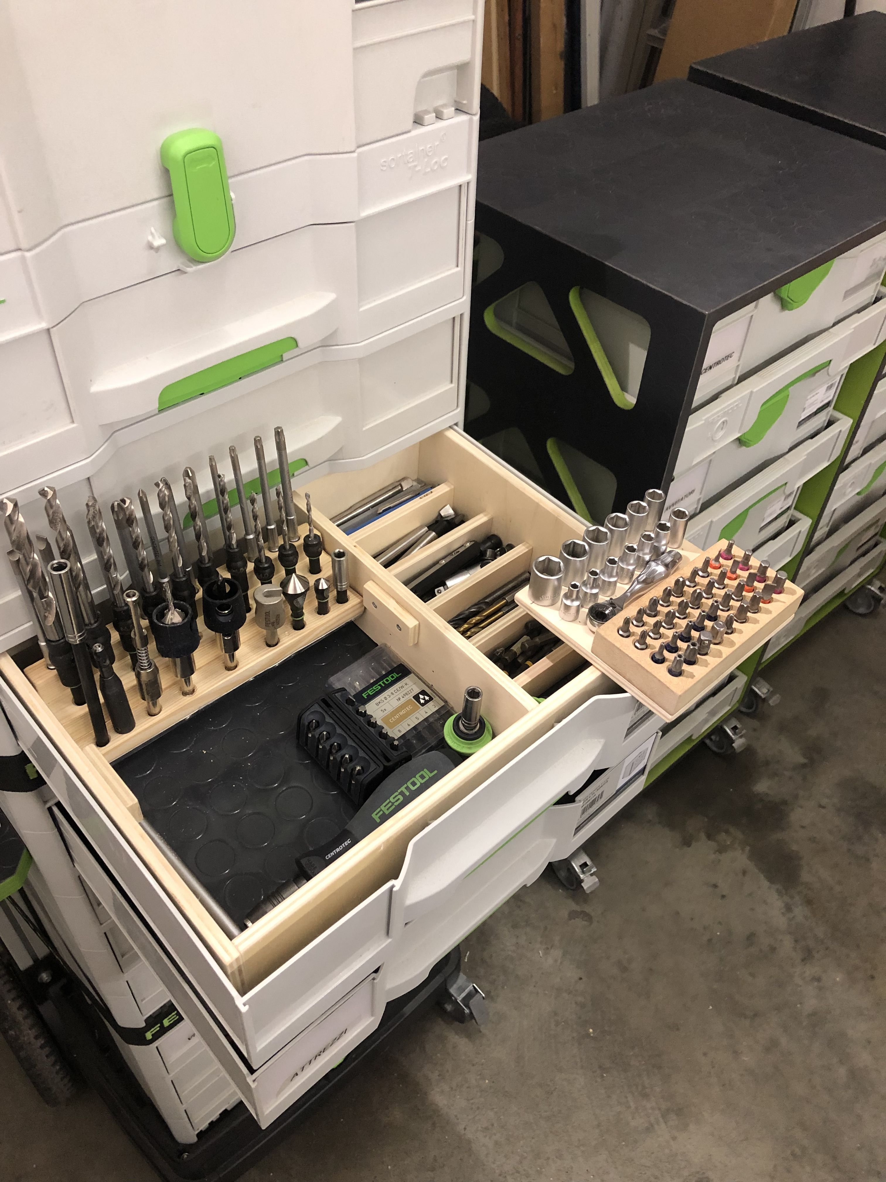 Pin By Jeff Townsend On Festool And Clamps Tool Cabinet Festool Systainer Woodworking
