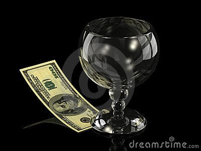Wine glass by Sergey Sundikov, via Dreamstime