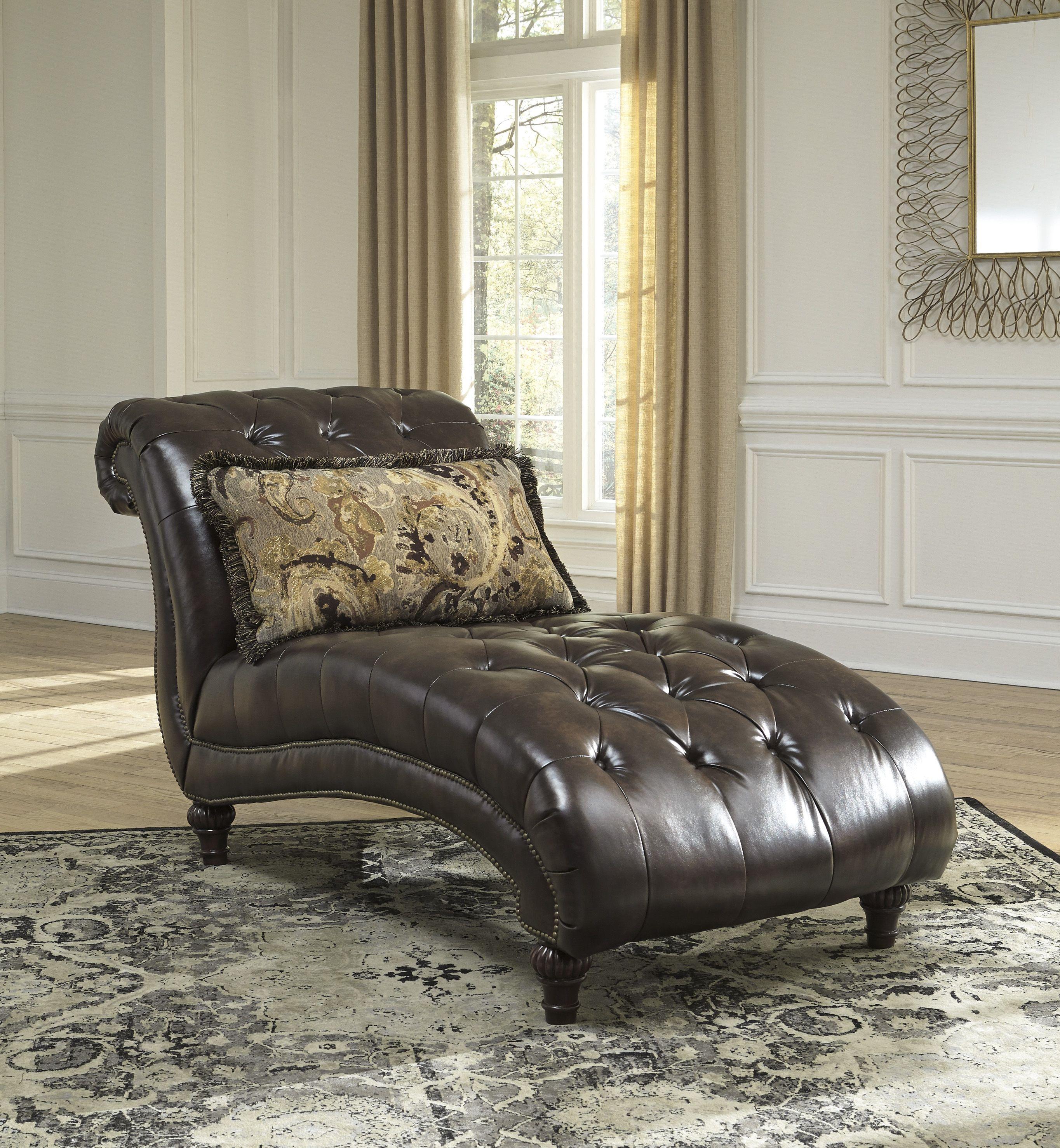 Ashley Furniture Winnsboro Durablend Chaise The Classy Home